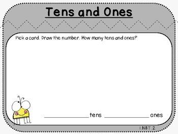 Tens and Ones Mats (First Grade, 1.NBT.2)