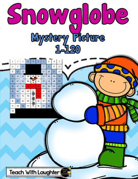 Tens and Ones Mystery Picture (Snow Globe) 1-120