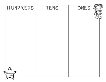 Tens and Ones PLUS Hundreds, Place Value Tens and Ones Mat--FREE!!