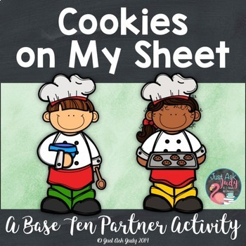 Place Value Activity Tens and Ones Cookies
