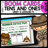 Tens and Ones Place Value BOOM CARDS | DIGITAL TASK CARDS
