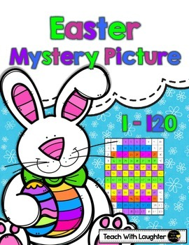 Tens and Ones Place Value Mystery Picture (Easter) (1-120)