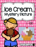 Tens and Ones Place Value Mystery Picture (Ice Cream)