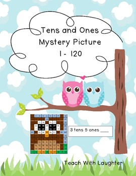 Tens and Ones Place Value Mystery Picture (Owl) 1-120