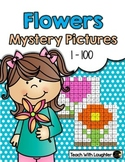 Tens and Ones Place Value Mystery Pictures (Flowers)
