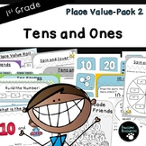 Tens and Ones-Place Value Pack 2 (First Grade-1.NBT.2)
