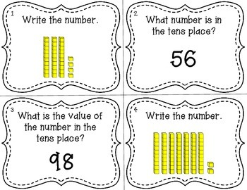 Tens and Ones Place Value Scoot {Common Core Aligned}