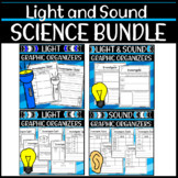First Grade Science Graphic Organizers: Light and Sound Bundle