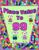 Tens and Ones - Place Value to 99 Worksheets