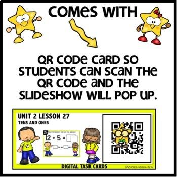 Tens and Ones Practice DIGITAL TASK CARDS   PRINTABLE TASK CARDS