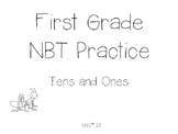 Tens and Ones Practice for First Grade