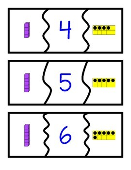 Tens and Ones Puzzles: 1-30
