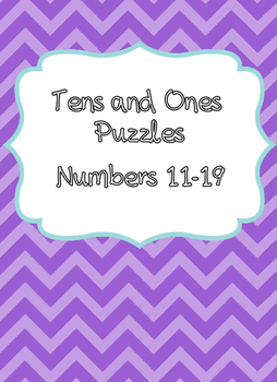Tens and Ones Puzzles - 11-19