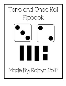 Tens and Ones Roll Flipbook