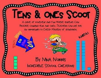 Tens and Ones Scoot