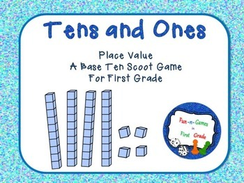Tens and Ones Scoot Game