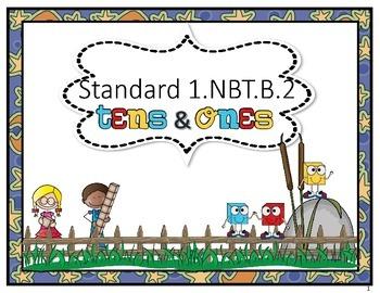 Tens and Ones.  Standard 1.NBT.B.2
