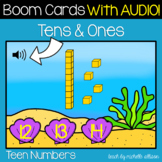 Tens and Ones   Teen Numbers   Place Value Game   Summer BOOM Cards™