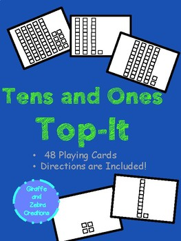 Tens and Ones (Place Value) Top-It