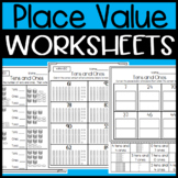 Tens and Ones Worksheets and Sorts: Place Value Worksheets