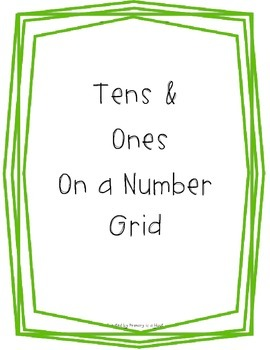 Tens and Ones on a number grid