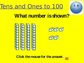 Tens and Ones to 100