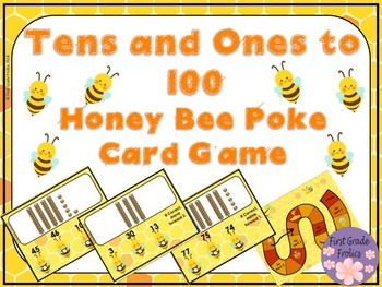 Tens and Ones to 100 Poke Cards