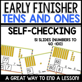Tens and Ones Practice |Numbers 40 to 100