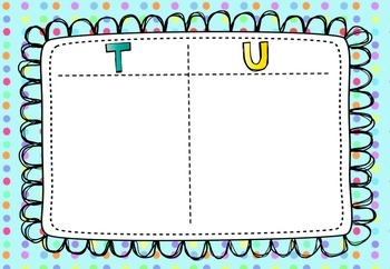 Tens and Units Frame