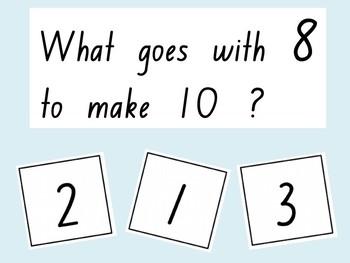 Tens buddies (PowerPoint Quiz)