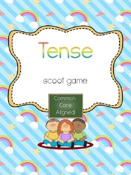 Tense Scoot- Common Core Aligend