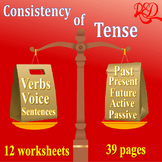 ⭐Tenses Practice | Active and Passive Voice Usages | Gramm