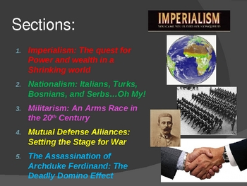 Tension and Turmoil: A Summary of the Events Leading to World War I