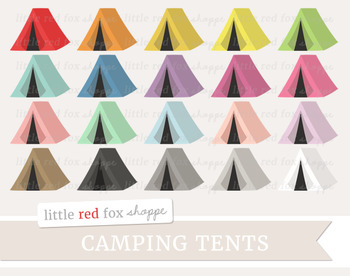 Tent Clipart; Camping, Outdoor, Fort