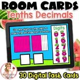 Tenths Decimals BOOM Cards | Digital Task Cards