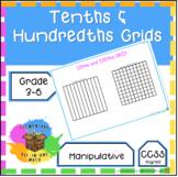 Tenths & Hundredths Grid