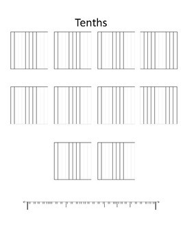Tenths and Hundredths Booklet