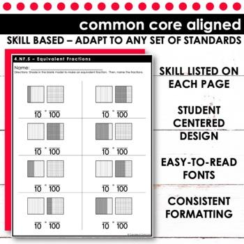Tenths and Hundredths | Fourth Grade Math 4.NF.5
