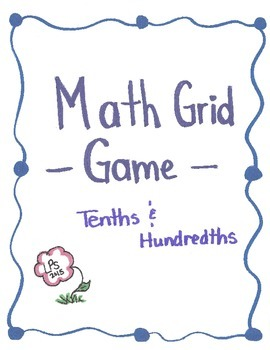 Tenths and Hundredths Grid Game