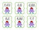 Tenths and Hundredths Place Value Decimal Ordering Cards