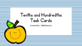Tenths and Hundredths Task Cards