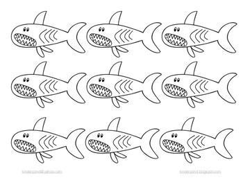 Sharks- A pocket chart game
