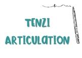 Tenzi Articulation Sheet