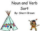 Tepee Noun and Verb Sort