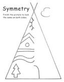 Tepee Symmetry Activity