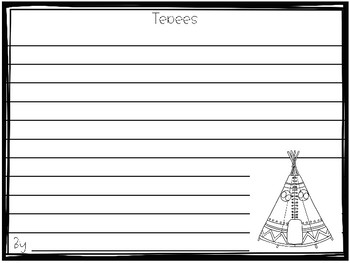 Tepees - Native American Home