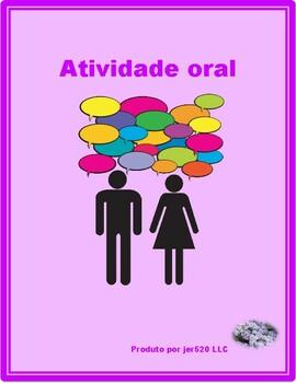 Ter e Material escolar (School in Portuguese) Partner Speaking activity 1