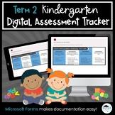 Term 2 Kindergarten Four Frames Digital Assessment