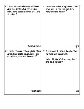Term 2 Math Assessment