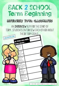 Term Beginning Goal Setting Interview